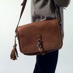 Boho-chic with this Gucci bag. #gucci #handbag #behindthescenes #therealreal