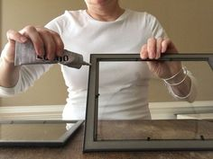People are pinning this Dollar Store frame idea like crazy and you'll instantly see why!