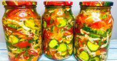 Zásobte sa zeleninovým šalátom, ktorý sa stane záchranou najmä v chladnom období Fresh Rolls, Pickles, Cucumber, Zucchini, Food And Drink, Treats, Stuffed Peppers, Vegetables, Healthy