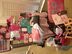 Take  picture of all the Big/Little Gifts before the reveal!