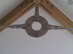 Steel bracing detail