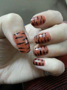 Tiger print !!