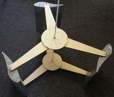 Wind turbine Spiral | 3D CAD Model Library | GrabCAD