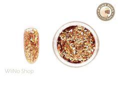 Items similar to Copper Orange Hexagon Mixed with Glitter Dust Powder / Sparkle Powder / Nail Art Craft on Etsy Fingernail Designs, Nail Art Supplies, Glitter Dust, Powder Nails, Arts And Crafts, Copper, Sparkle, Jar, Orange
