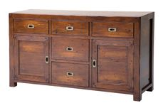 The Post & Rail Large Buffet  - Jamaican Sunset from LH Imports is a unique home decor item. LH Imports Site carries a variety of Sideboards & Cabinets and other  Products furnishings.