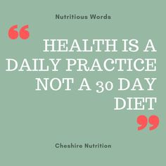 Health is a daily practice. Nutrition is important for good brain health which supports mood, sleep, energy and concentration. See my nutritionist website for more free nutrition tips, advice and information about nutritional therapy. Nutrition Quotes, Health And Wellness Quotes, Health Advice, Nutrition Tips, Wellness Tips, Health And Nutrition, Health Fitness, Good Health Quotes, Health Quotations