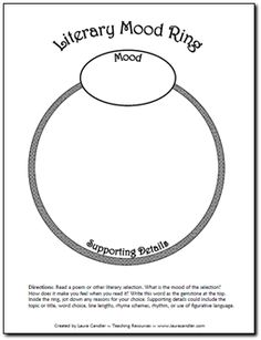Literary Mood Ring freebie in Laura Candler's online file cabinet