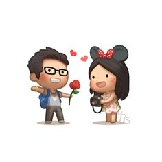 ⚡ I brought you this flower and I wanted to say sorry. My love it just helps me with the longing. Your KING. Romantic Humor, Romantic Quotes, Cute Love Cartoons, Cute Cartoon, Cute Love Stories, Love Story, Amor Quotes, Love Quotes, Inspiring Quotes