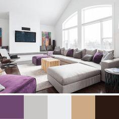 cores para sala de estar