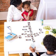 NEW: Family Dominoes. The classic game of dominoes turned kid-friendly using your family photos. #dominoes #linkinprofile