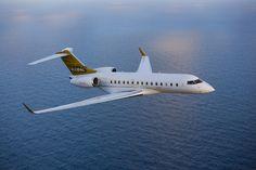 bombardier aéronautique  global 7000   Bombardier Global Express XRS en vol