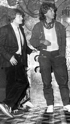 John Paul Jones & Robert Plant