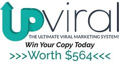Win A Copy Of The Award Winning Upviral Software Worth $564. Simply Supply Your Email Address To Enter The Contest.