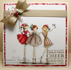 Watermelon Sugar: Spread Christmas Cheer....like the little jingle bells with ribbon