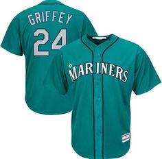 Seattle Mariners Ken Griffey Jr. #24 Alternate Away Throwback Jersey