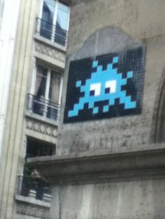 """the invasion of the art works of the french urban artist invader Invader is the pseudonym of a well-known french urban artist,  one decoded message reads """"this is an invasion"""" invader invader works  art- tribute to invader."""