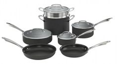 I was just looking for a great deal on a new cookware set :) I love my Cuisinart ones I have, but it may be time for new ones!