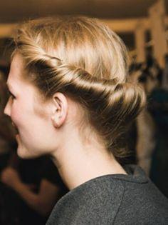 Twisted hair #jennygr