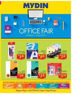 24 Mar-4 Apr 2016: Mydin Office Fair