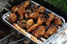 Grillowane skrzydełka z miodem Tandoori Chicken, Grilling, Cooking, Ethnic Recipes, Blog, Drink, Kitchen, Beverage, Crickets