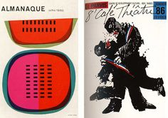 Sebastiao Rodrigues (1960); Alain Le Quernec (1985) by b_caruthers, via Flickr