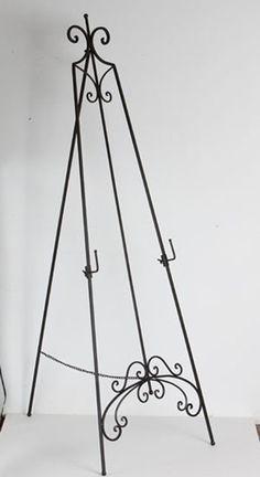 iron easel
