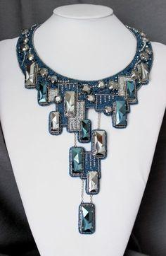 Avoid The Pitfalls To Purchasing Beautiful Jewelry Bead Embroidery Jewelry, Soutache Jewelry, Fabric Jewelry, Beaded Embroidery, Jewelry Art, Beaded Jewelry, Unique Jewelry, Handmade Jewelry, Jewelry Design