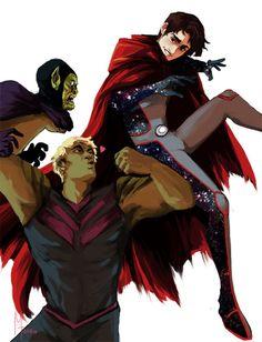 Marvel Dc Movies, Marvel Gif, Marvel Fan Art, Marvel Heroes, Marvel Characters, Marvel Avengers, Wiccan Marvel, Anime Guys Shirtless, Scarlet Witch Marvel