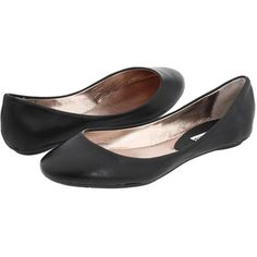 Steve Madden P-Heaven Women's Flat Shoes, Black ($40) ❤ liked on Polyvore featuring shoes, flats, black, steve madden p-heaven black leather, black ballet flats, ballet flats, ballerina flat shoes, ballet shoes and glitter ballet flats