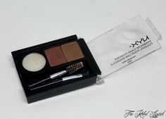 NYX Eyebrow Cake Powder Open  Full review on http;//therebellipstick.com