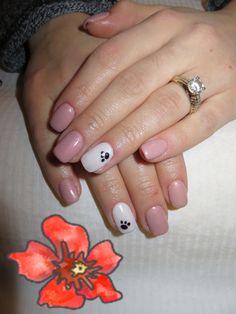labuta de catel #puppy Nailed It, Nails, Beauty, Finger Nails, Beleza, Ongles, Nail, Cosmetology, Manicures