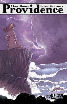 Cover art by Jacen Burrows Horror Comics, Marvel Dc Comics, Alan Moore Comics, Comic Book Covers, Comic Books, Sunless Sea, Call Of Cthulhu Rpg, Dark Drawings, Famous Monsters