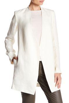 Winola Linen Drape Blazer by Theory on @nordstrom_rack