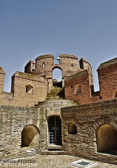 Interior Castillo de la Mota Medina del Campo Valladolid