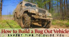 Expert Tips to Select and Build The Perfect Bug Out Vehicle – Geek Prepper