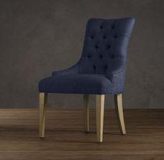 Martine Tufted Fabric Armchair
