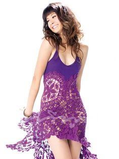 A Crochet dress // Model: Amika Klinprathum, Thai actress