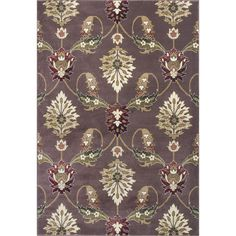 Found it at Wayfair - Greenfield Plum Area Rug