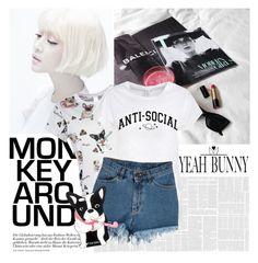 """YeahBunny"" by elmaimsirovic ❤ liked on Polyvore"