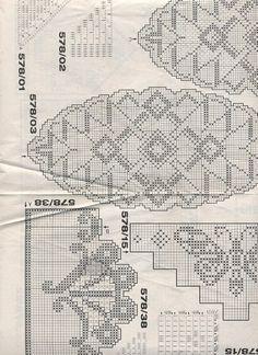 Filet Crochet, Crochet Art, Crochet Patterns, Easy Knitting Patterns, Crochet Dollies, Cross Stitch Bird, Doilies, Vintage World Maps, Summer Vest