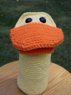 Duck Puppet (not pattern- for sale or inspiration!)