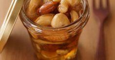 大好きなナッツの蜂蜜漬け。 ヨーグルトと食べるのがオススメ! 話題入りありがとうございます❤︎