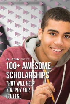 Worried about how to pay for college or how to graduate without a ton of student loans? Applying for scholarships is one way to save money on costs. To get you started heres a list of 100 college scholarships. Financial Aid For College, College Planning, Education College, College Life, College Hacks, College Ready, College Success, Kids Education, Federal