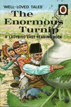 The Enormous Turnip (A Ladybird easy-reading book. Well-loved t. 1970s Childhood, My Childhood Memories, Childhood Toys, Childhood Ruined, Easy Reading Books, Tales Series, Ladybird Books, All Nature, Thing 1