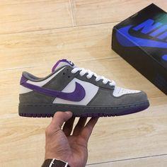 online store dc69c c5391 Discount Nike Dunk Low Pro Sb Men Shoes Grey White Purple Sale