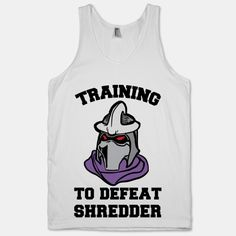 Training To Defeat Shredder