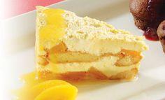 Detalles para la preparación de la receta de Torta helada de durazno con imágenes y calificación de usuarios en PRONACA Procesador a Nacional de Alimentos