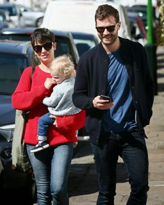 Jamie Dornan Life: New Pictures of Jamie and His Family in London Today