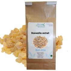 Partie de plante : Résine Principe actif : 65% Acide boswellique