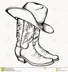 cowboy hat silhouette clip art   Cowboy Boots And Cowboy Hat Drawing Hd Shoe Clip Art